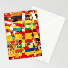 Jiseo (stripes 12) Stationery Cards