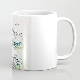Ice Skate Patent - Sharon Cummings Coffee Mug