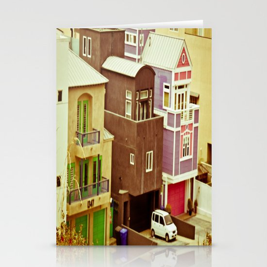 Colorful Condos Stationery Cards