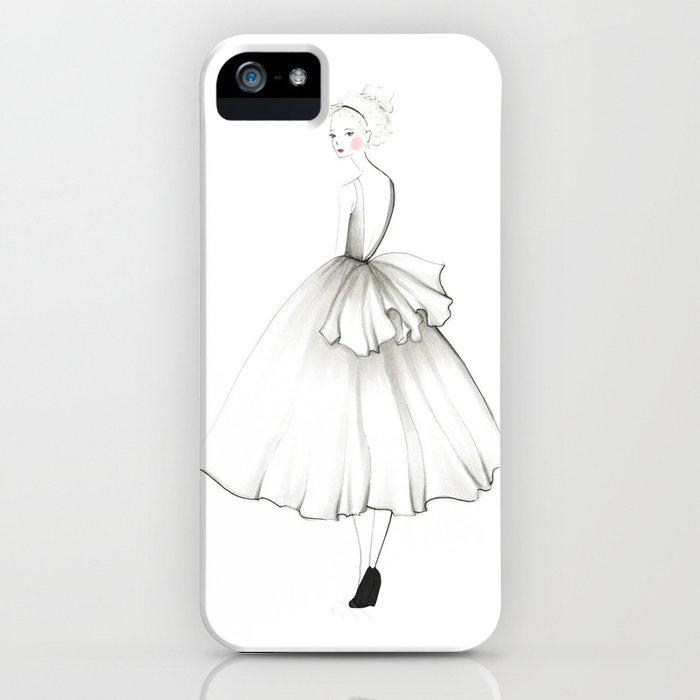 Noir Girl iPhone Case