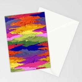 Rainbow Ripples Stationery Cards