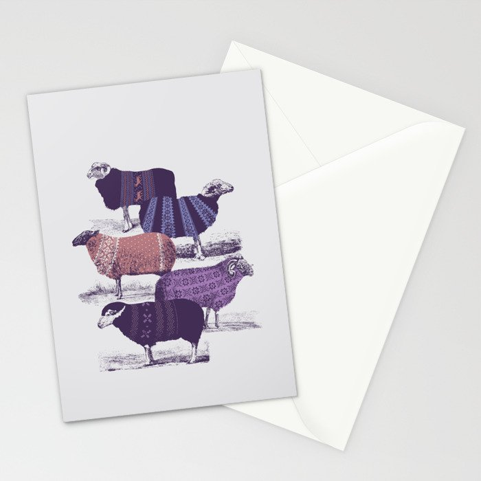 Cool Sweaters Stationery Cards