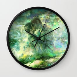 Rice Fields Forever Wall Clock