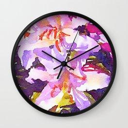May-Flowers-11 Wall Clock