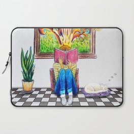Book Window Laptop Sleeve