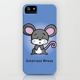 Surprised Mouse iPhone Case