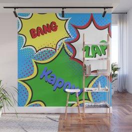 BANG! ZAP! KAPOW! Wall Mural