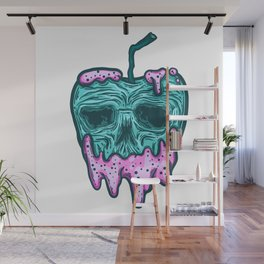 poison apple...skull voodoo Wall Mural