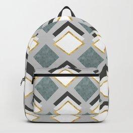 pattern of geometric figures Backpack