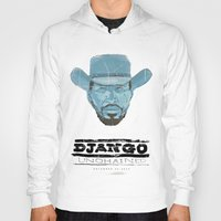 django Hoodies featuring Django by kjell