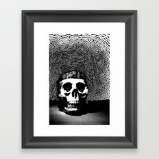 caveira Framed Art Print