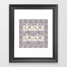 Flake&Lace (Parma) Framed Art Print