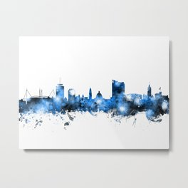 Cardiff Wales Skyline Metal Print