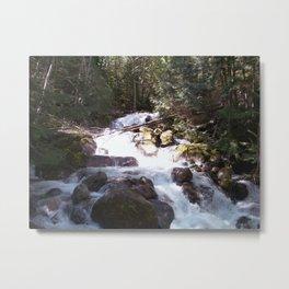 High Water Metal Print