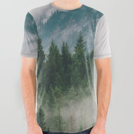 Vancouver Fog All Over Graphic Tee