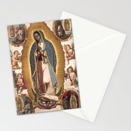 Virgin of Guadalupe, 1700 Stationery Cards