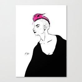 P!NK HAIR Canvas Print