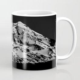 Mount Adams Black and White Coffee Mug