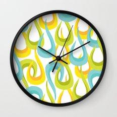 Mod Loop White Wall Clock
