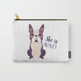 Grumpy dog Carry-All Pouch