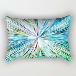481 Abstract Orb Design Rectangular Pillow