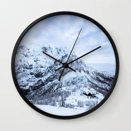 Winter wonderland explorer Wall Clock