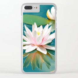 Waterlily 250 Clear iPhone Case