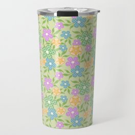 Flower Power Travel Mug