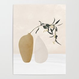Couple Of Vases Poster