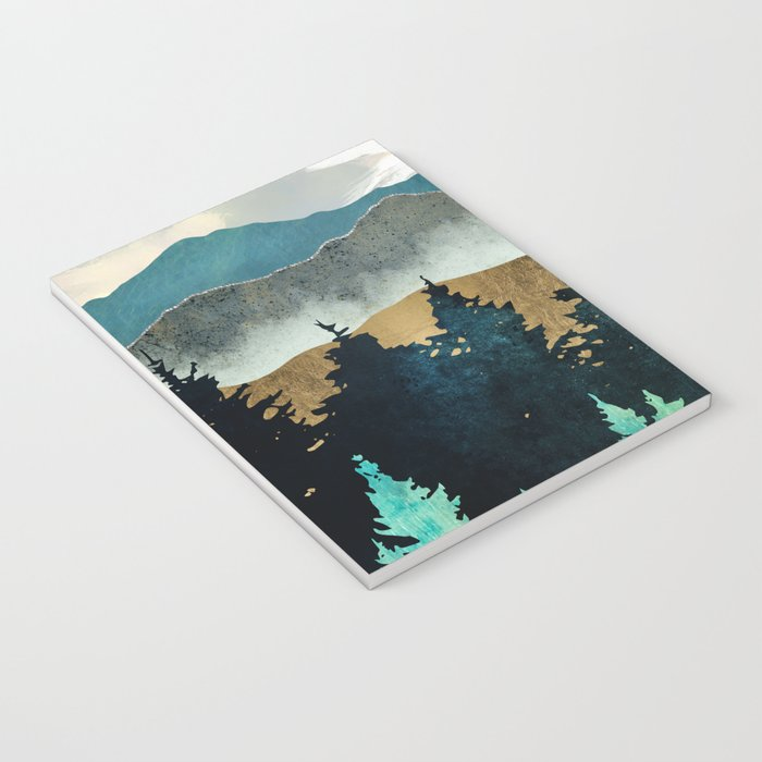 Forest Mist Notebook