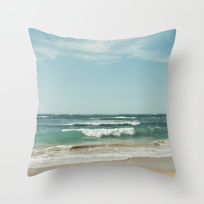 The Ocean of Joy Throw Pillow