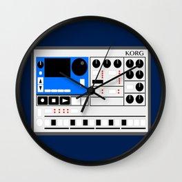 Retro Drum Machine Korg Electribe Sequencer Wall Clock