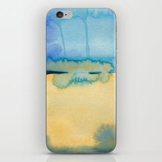 Color Field No. 2 iPhone & iPod Skin