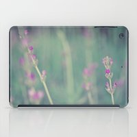 lavender iPad Cases featuring Lavender by Light Wanderer