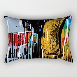 Daft Drip Rectangular Pillow