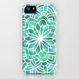 Mandala Southwest Succulent iPhone Case