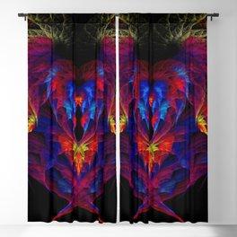 Heart of Fire Blackout Curtain