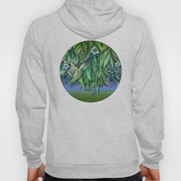 """""""Spring Forest of Surreal Leaf litter and flowers"""" Hoody"""