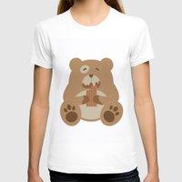 teddy bear T-shirts featuring Teddy Bear by EinarOux