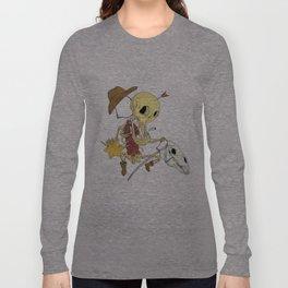 Cowboy Skull Long Sleeve T-shirt