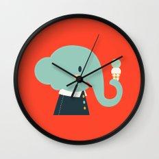 Mister Elephant Wall Clock