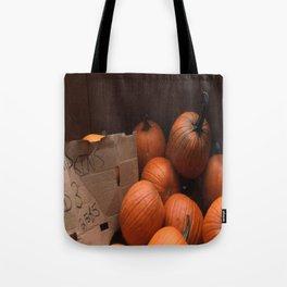 Pumpkins In a Box! Tote Bag