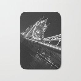 Tower Bridge at Night Bath Mat