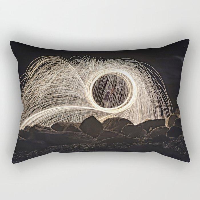 Firespinner #2 Rectangular Pillow
