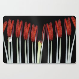 Part of a flower Macro Cutting Board