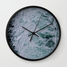 Sea Water Current Wall Clock