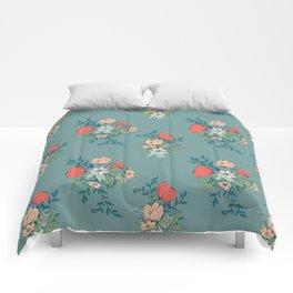 Botanical pattern 001 Comforters