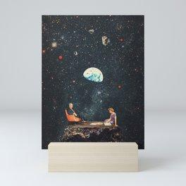 I'm Not going Anywhere Mini Art Print