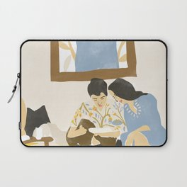 You and me and the music Laptop Sleeve