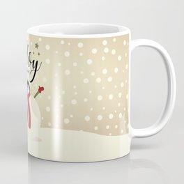 Snowman's Joy To The World Coffee Mug